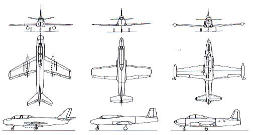T1ジェット機