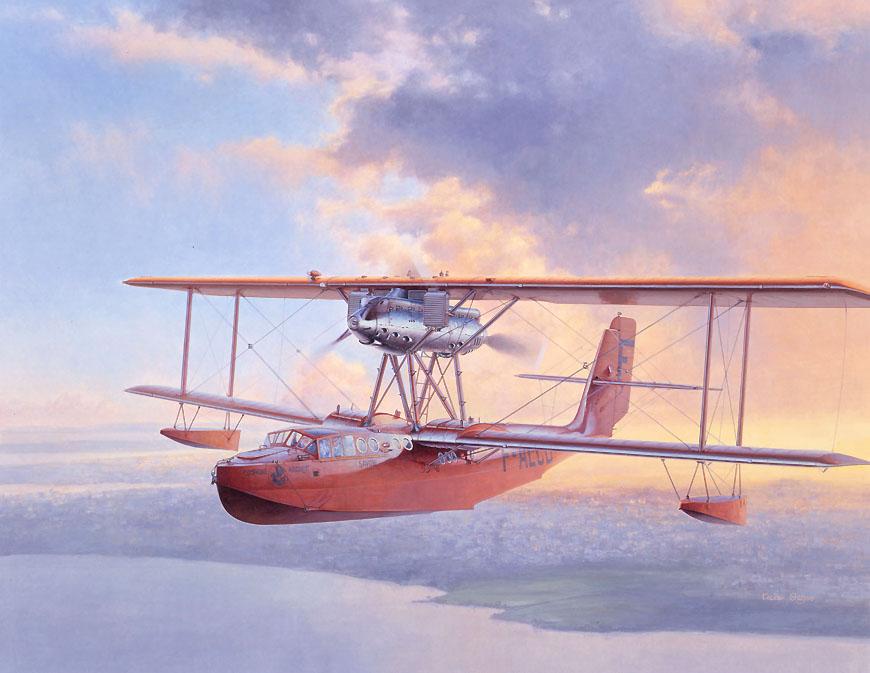 小池繁夫 航空イラストレーター