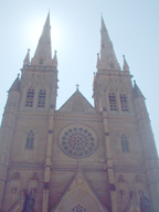 大聖堂正面景