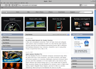 http://www.apple.com/startpage/