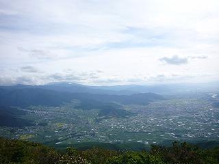 千曲川と中野平