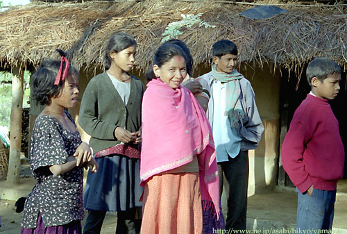 タルー族の女性