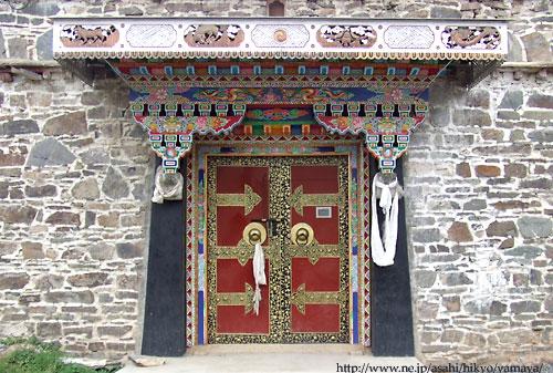チベット の 民家 チベット の