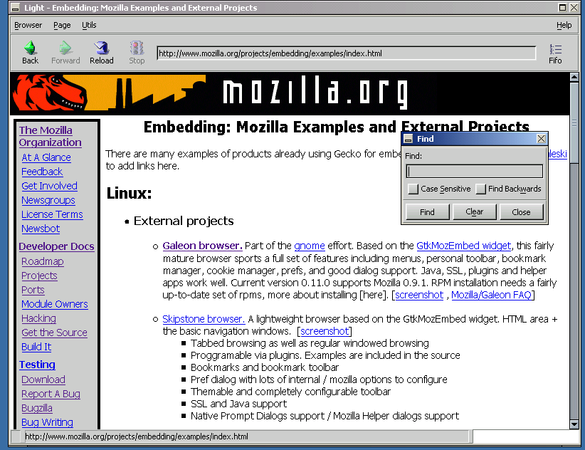 Roll your own browser: An embedding how-to - Mozilla | MDN