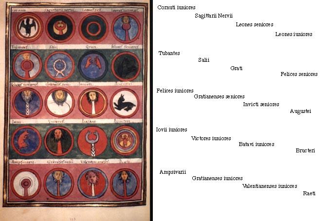 Список Римских Легионов