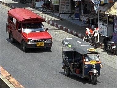 Photo: Tuk Tuk and Songtaew
