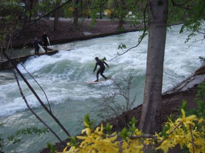 Surfin' on Isar