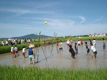 泥んこカップ(潟東村)