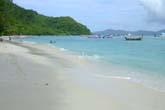 コーラル島のビーチ:クリックで拡大