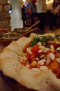 ピリ辛のインドサラダ:クリックで拡大