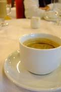 食後のコーヒー:クリックで拡大