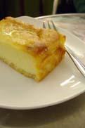 豆腐チーズケーキ:クリックで拡大