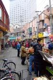 呉江路小吃街