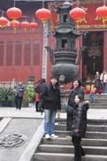 仏殿の入り口:クリックで拡大