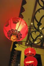 中華チックな正月飾り:クリックで拡大