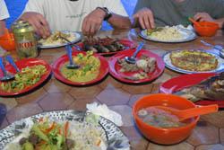マレーシア家庭料理:クリックで拡大