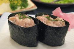 飯盗のにぎり寿司 35RMB:クリックで拡大