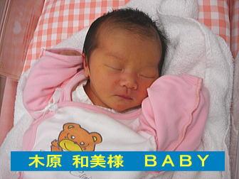 2005年5月の赤ちゃん