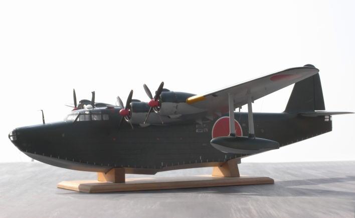 坂圦会員作品、二式飛行艇