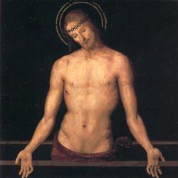 石棺の上のキリスト