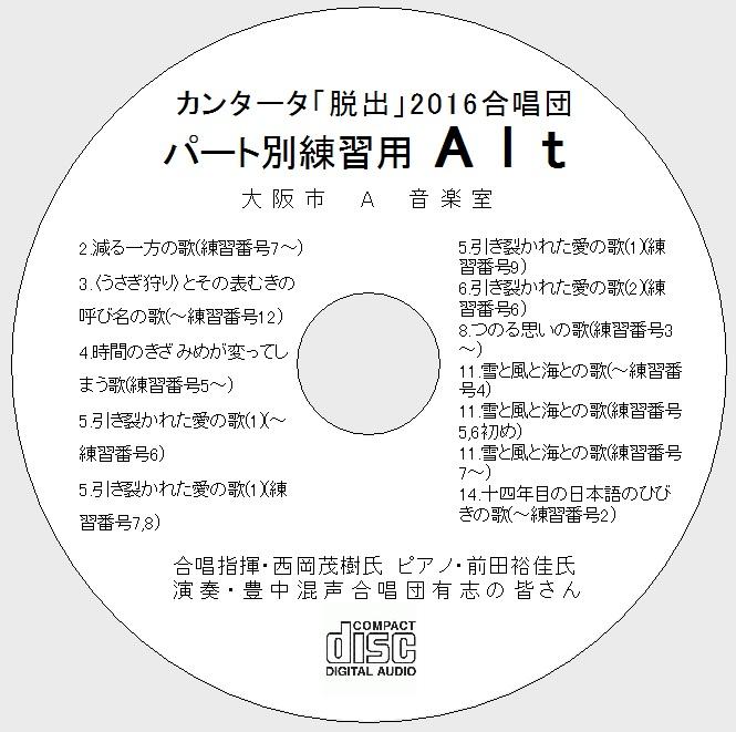 パート別練習CD