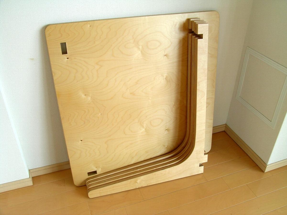 コモンカフェテーブル・組み立て式テーブル