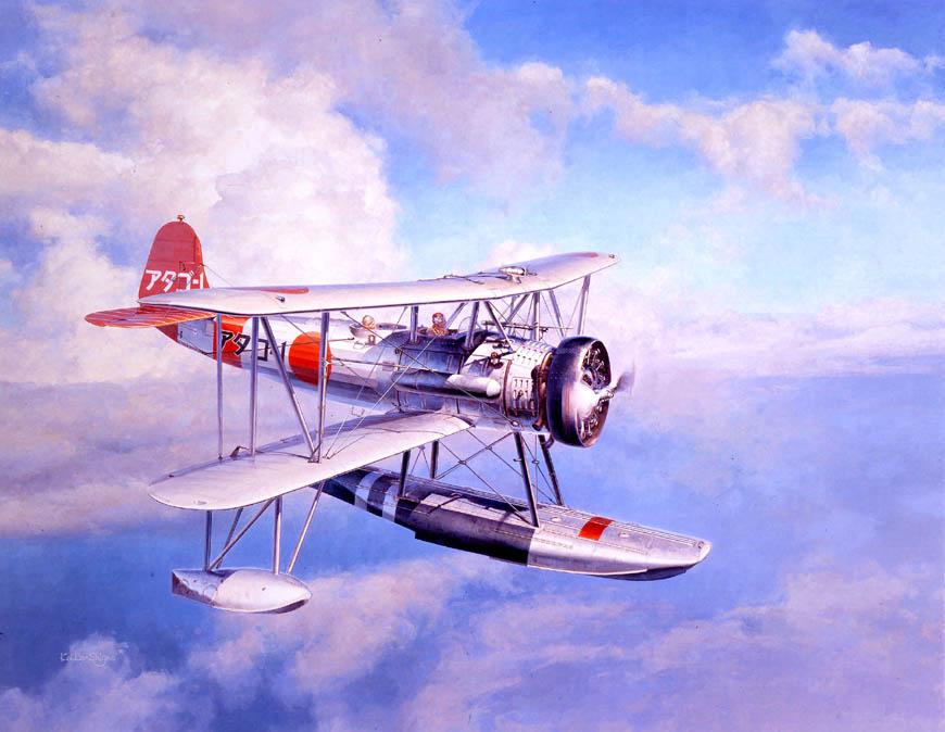 中島 九〇式二号水上偵察機二型