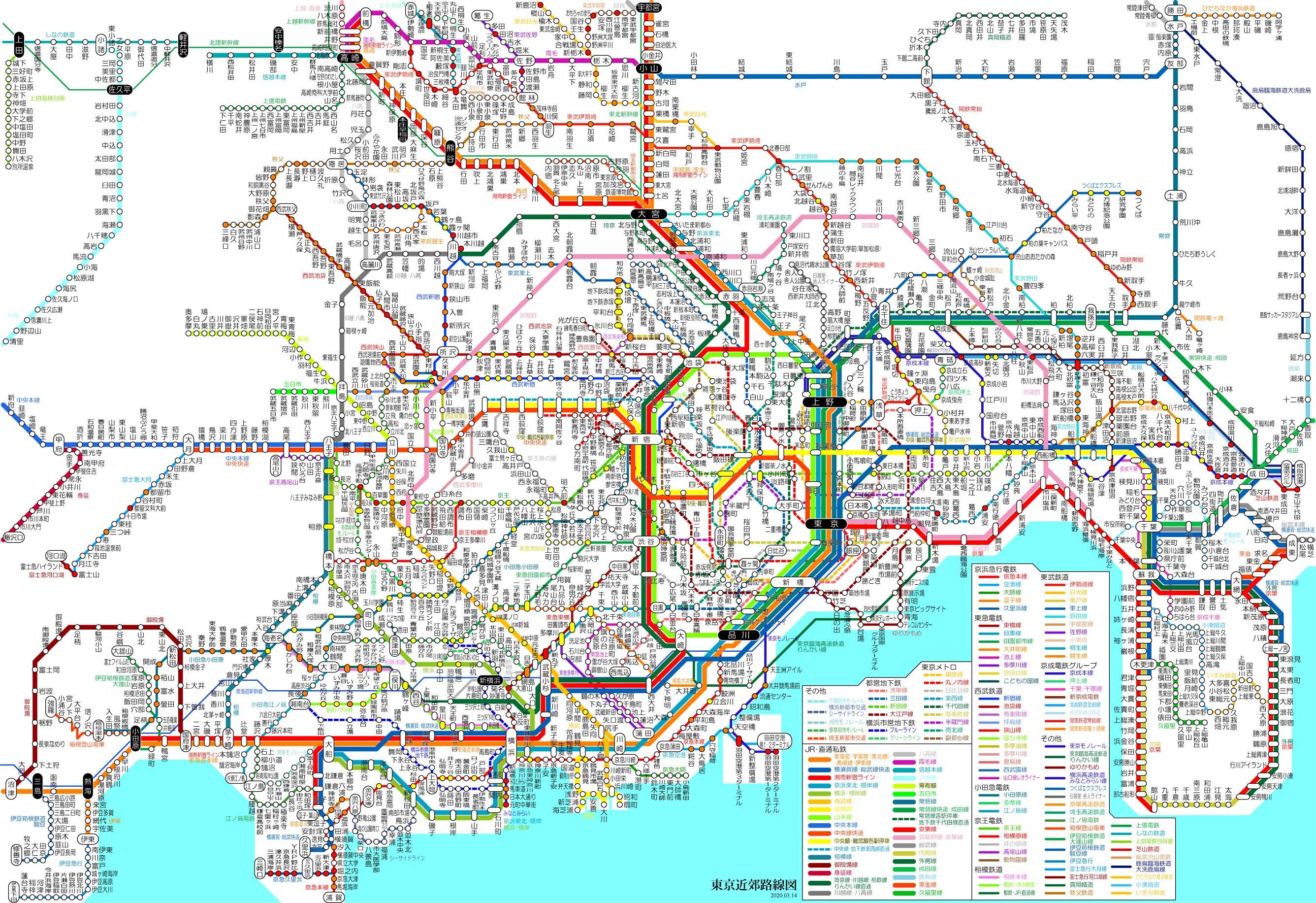 東日本 図 jr 路線